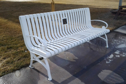 Cast Iron Bench Model 10-241