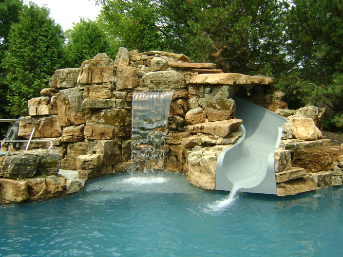 Natural Structures Water Slides