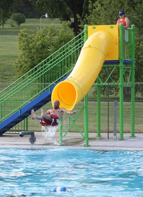 Natural Structures Drop Slide Pool Slides