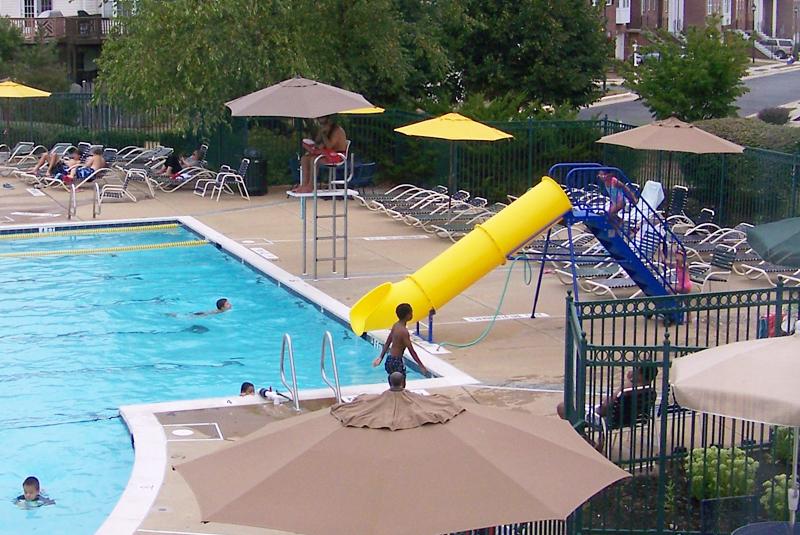 Natural Structures Portable Pool Slides