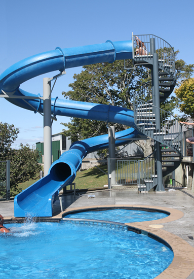 Natural structures water slides entry height 18 39 to 19 39 - Playmobil swimming pool with waterslide ...