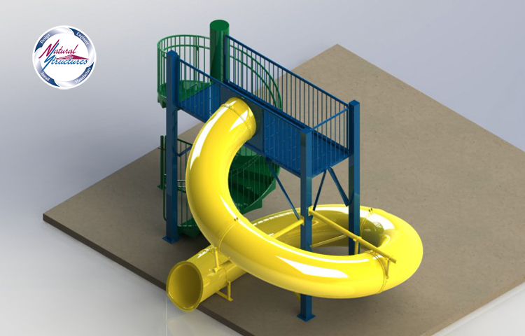 Natural structures water slides entry height 10 39 0 to 10 39 11 - Water kamer model ...
