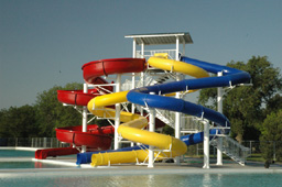 Combination Flume Water Slides
