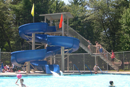 Water Slides: Entry Height 16' to 17'