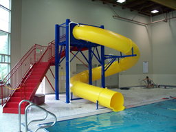 Polyethylene Flume Water Slides