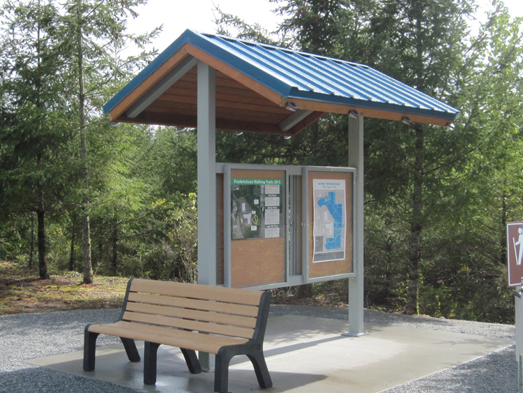 Natural Structures: Sentinel Mountain Kiosk Shelters
