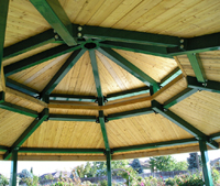White Mountain Octagon Shelter 98-OCT025-4T